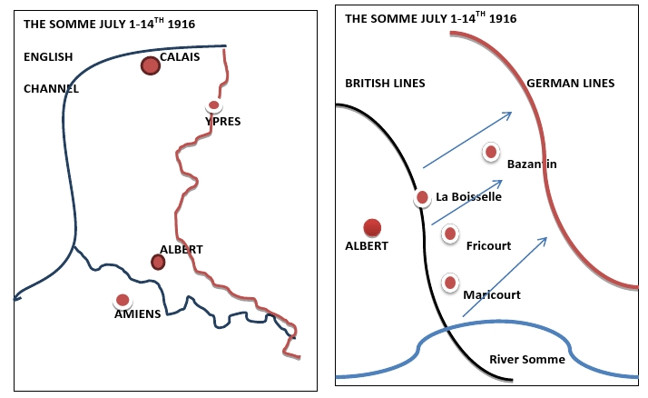 HEY WAR DEAD JULY 1916
